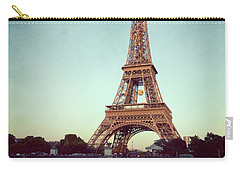 Carry-all Pouch featuring the photograph The Eifeltower by Hannes Cmarits