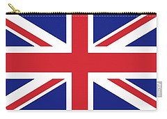 Union Jack Ensign Flag 1x2 Scale Carry-all Pouch