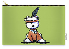 Westie Pocahontas Carry-all Pouch