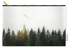 Carry-all Pouch featuring the photograph Forest by Nicklas Gustafsson