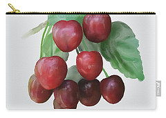 Carry-all Pouch featuring the painting Sour Cherry by Ivana Westin