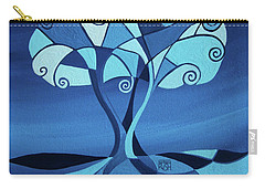 Enveloped In Blue Carry-all Pouch