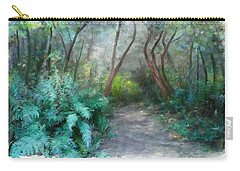 Carry-all Pouch featuring the painting In The Bush by Ivana Westin