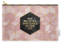 She Believed She Could Carry-all Pouch
