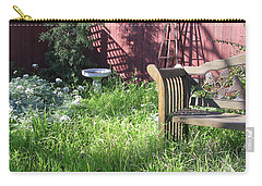 Carry-all Pouch featuring the photograph Wild Garden by Felipe Adan Lerma