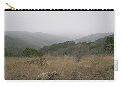 Carry-all Pouch featuring the photograph Road To Lost Maples by Felipe Adan Lerma