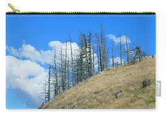 Carry-all Pouch featuring the photograph At The End Of The World by Ivana Westin
