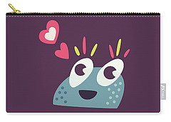 Kawaii Cute Cartoon Candy Character Carry-all Pouch