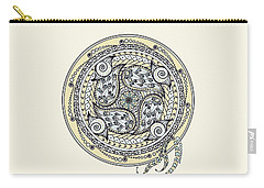 Paisley Balance Mandala Carry-all Pouch