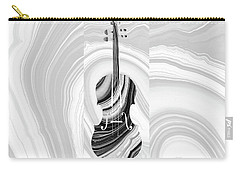 Marbled Music Art - Violin - Sharon Cummings Carry-all Pouch by Sharon Cummings