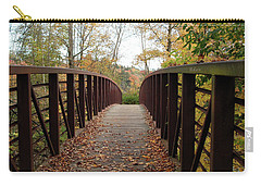 Thompson Park Bridge Stowe Vermont Carry-all Pouch by Felipe Adan Lerma