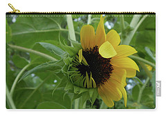 Sunflower Rising Carry-all Pouch