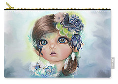 Indigo - Butterfly Keeper - Munchkinz By Sheena Pike  Carry-all Pouch