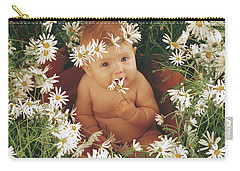 Daisies Carry-all Pouch by Anne Geddes