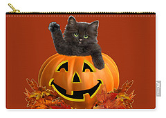 Pumpkin Kitty Carry-all Pouch