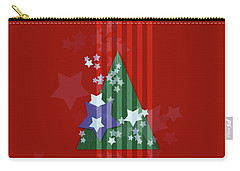 Stars And Stripes - Christmas Edition Carry-all Pouch