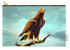 Golden Eagle Carry-all Pouch by Anthony Mwangi