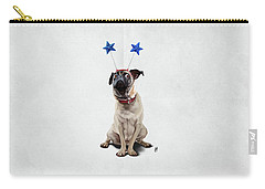 A Pug's Life Wordless Carry-all Pouch by Rob Snow