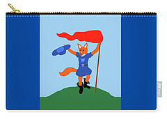 Reynard The Fairy Tale Fox Carry-all Pouch by Marian Cates