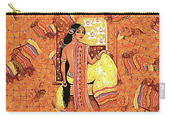 Bharat Carry-all Pouch by Eva Campbell