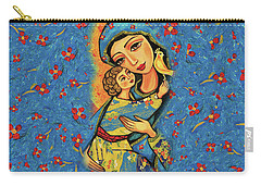 Mother Temple Carry-all Pouch by Eva Campbell
