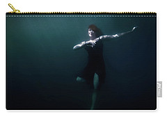 Carry-all Pouch featuring the photograph Dancing Under The Water by Nicklas Gustafsson