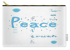 Blue Peace Carry-all Pouch