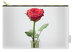 Carry-all Pouch featuring the painting Smell The Rose by Ivana Westin