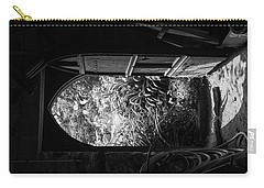 Carry-all Pouch featuring the photograph Through The Door by Clare Bambers