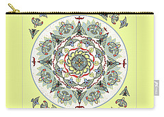 Circle Of Birds Carry-all Pouch