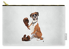 The Boxer Wordless Carry-all Pouch
