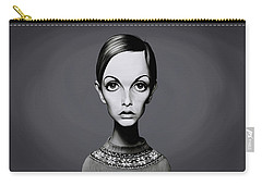 Celebrity Sunday - Twiggy Carry-all Pouch by Rob Snow