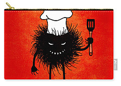 Evil Bug Chef Loves To Cook Carry-all Pouch