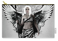 Carry-all Pouch featuring the digital art Valkyrja by Nicklas Gustafsson