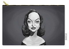 Celebrity Sunday - Bette Davis Carry-all Pouch by Rob Snow