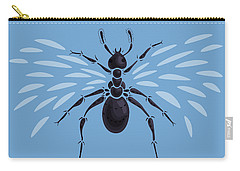 Abstract Winged Ant Carry-all Pouch