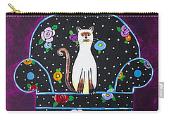 Cats Just Wanna Have Fun Carry-all Pouch