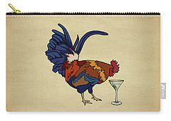 Cocktails Carry-all Pouch by Meg Shearer