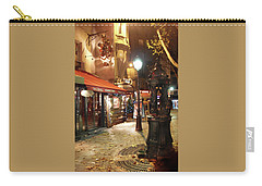 Place St Michel To Rue Saint-andre Des Arts Carry-all Pouch by Felipe Adan Lerma