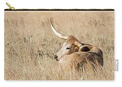Prairie Longhorn Carry-all Pouch