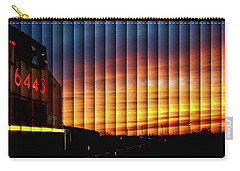 Up 6445 Sunset - The Slat Collection Carry-all Pouch