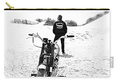 Motorcycle Racing Team Carry-all Pouch by Mark Rogan