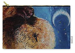 Sea Otter Pup Carry-all Pouch by Michael Creese