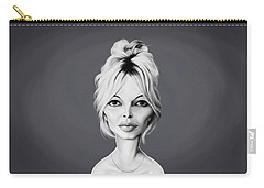 Celebrity Sunday - Brigitte Bardot Carry-all Pouch