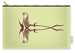 Zen Fly Specimen  Carry-all Pouch