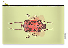 Crowned Horn Bug Specimen Carry-all Pouch