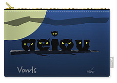 Vowls Carry-all Pouch