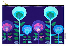 Space Flowers Carry-all Pouch