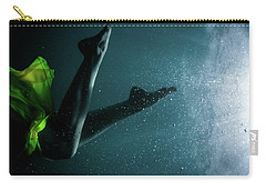 Yellow Dress Dancing Carry-all Pouch