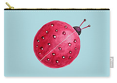 Beautiful Abstract Watercolor Ladybug Carry-all Pouch